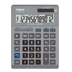 JINHO京禾 JH-2758-12T 12位元稅率計算機 金屬面板